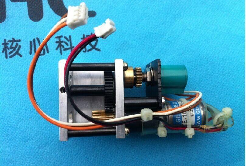 Repair ink key motor TE16KM-12-576