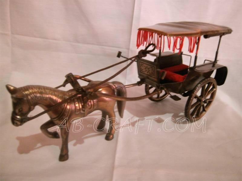 Miniature horse Keeta Iron Copper Brass