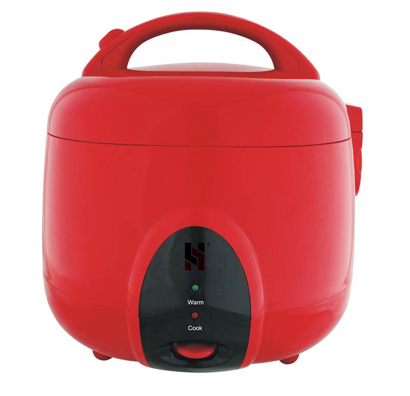 Red ruby rice cooker