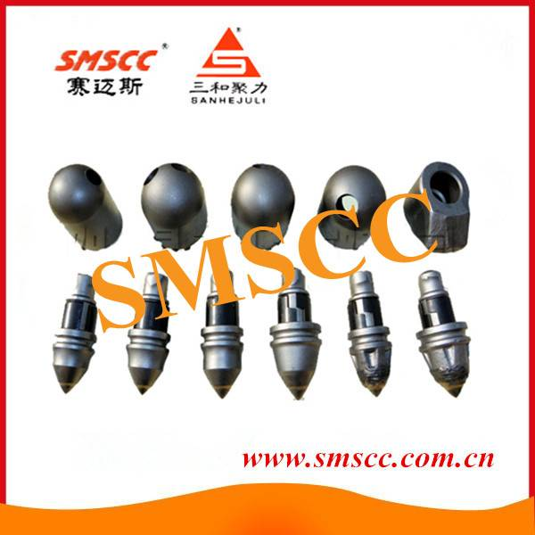 Conical Round Shank Bits Trencher Teeth