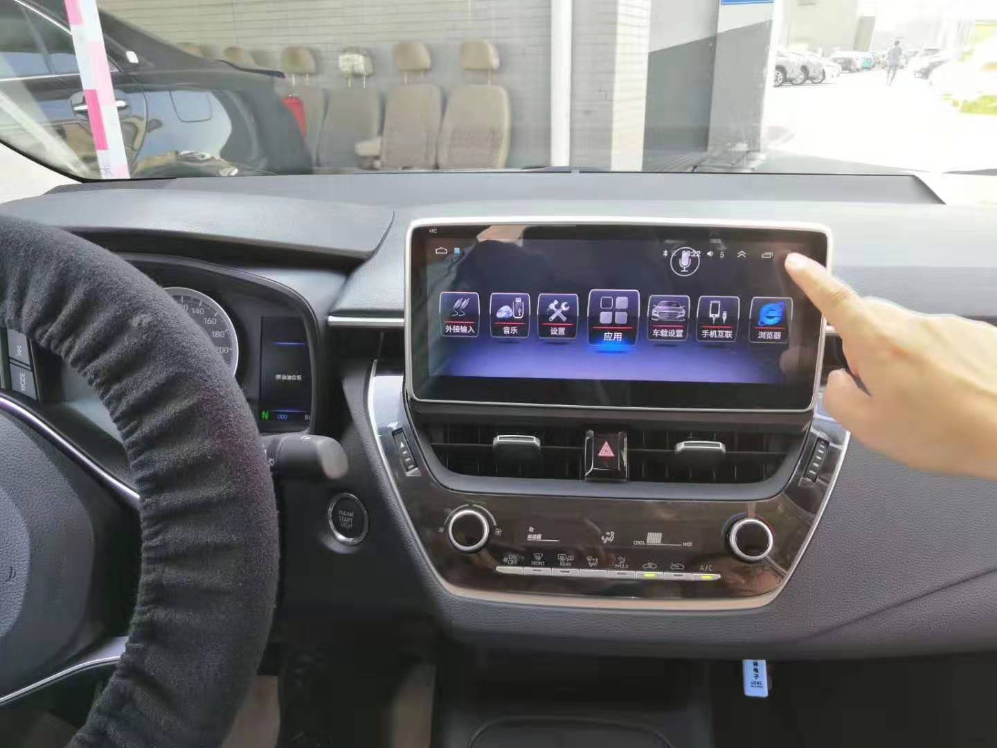 10.25 Inch Android Car Multimedia Navigation For Toyota New Corolla 2019