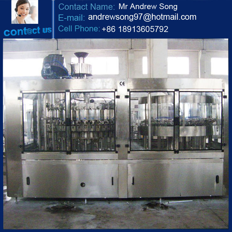 PET Bottle High Speed Carbonated Soft Drinks Production Line