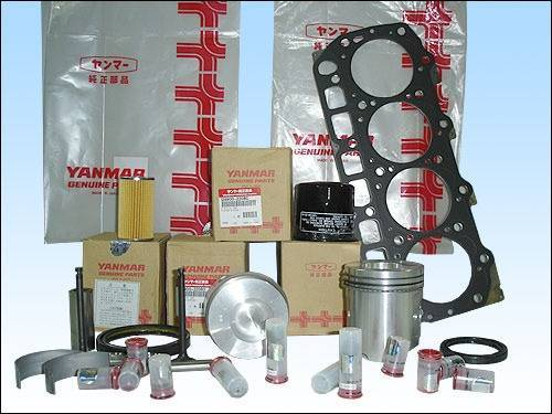 YANMAR 4TNE88E forklift engine parts