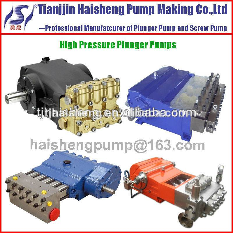 Diesel engine drive pump for seawater desalination