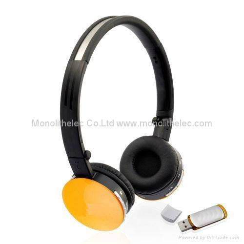 Bluetooth Headset Headphone Earphone