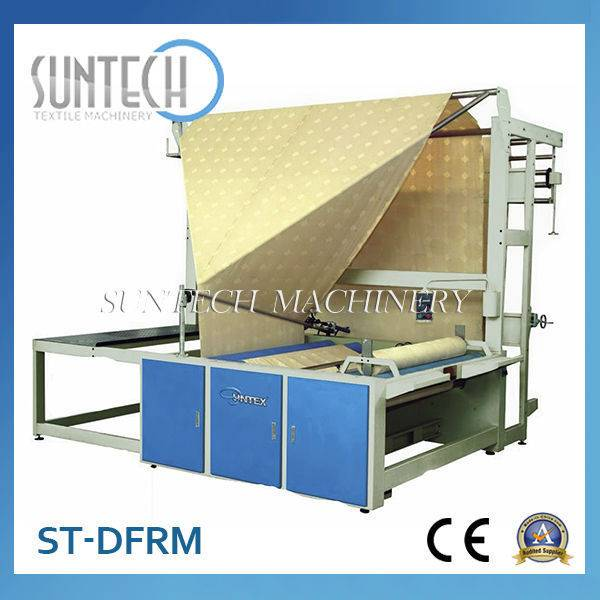 Low Price Double Folding & Rolling Machine(Double folded on paper tube)