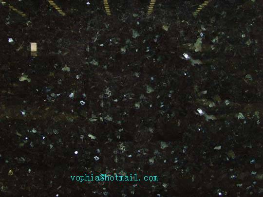 Beautiful Emerald Pearl granite with bright sopt