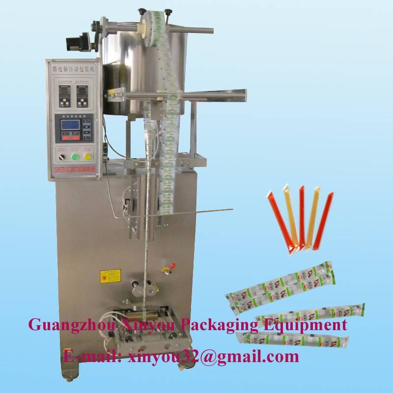 Automatic jelly packing machine