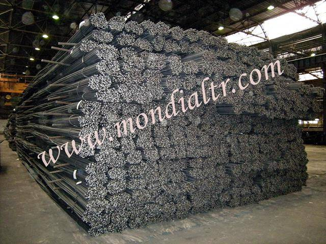 Ribbed reinforcing steel bars - Turkish origin