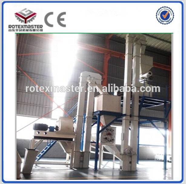 CE approved poultry feed pellet processing machine equipment