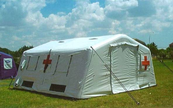 Military and Relief Tent
