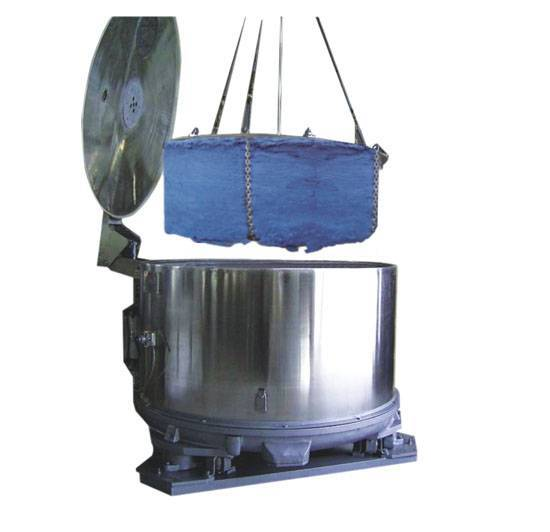 Hydro Extractor for Fibre Cake