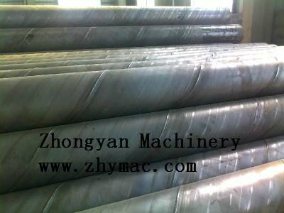 Supply superior quality spiral carbon steel pipe
