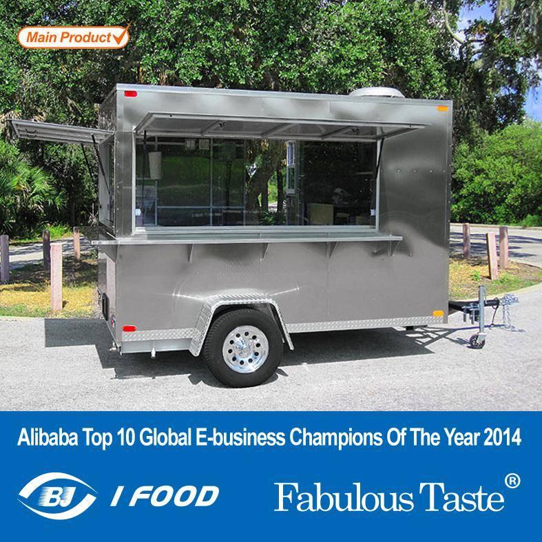 Mobile Kitchen Cart for Hot Dog