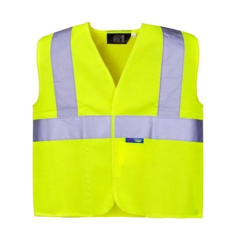 Best selling Hi Vis Vest with black binding
