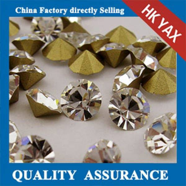 D0928China Factory rhinestone point back, loose pointed back rhinestone,glass point back rhinestone