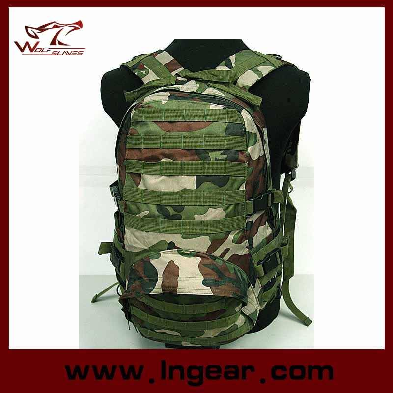 600D Military Molle Patrol FSBE Assault Backpack For Hiking Hunting
