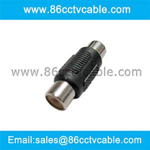 RCA Female to RCA Female Barrel Connector