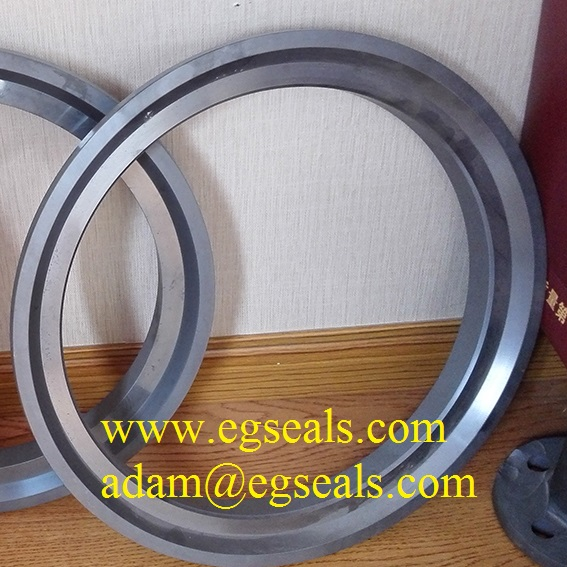 Large silicon carbide seal rings