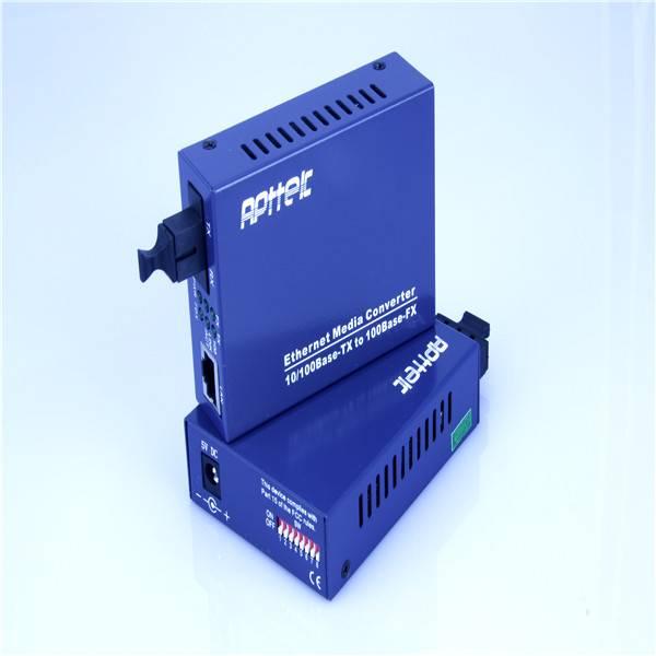 Sell 100M single fiber media converter