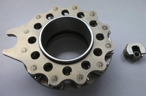 Turbocharger nozzle ring TF035