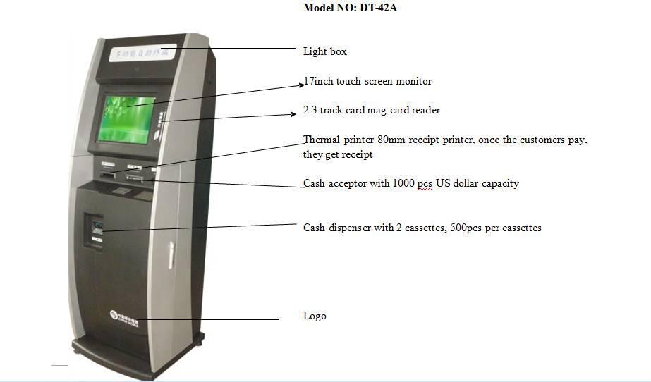 Self service mobile payment kiosk