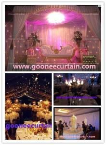 Outdoor LED Curtain Flexible LED Wedding Curtain