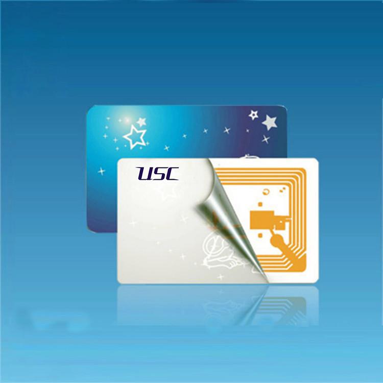 13.56Mzh card FM1204/FM1208 RFID Smart Plastic CPU Card