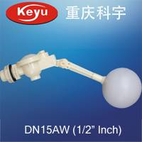 Offering DN15AW 1/2 plastic float valve