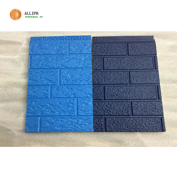 Heat Insulation Exterior Decorative PU Foam Sandwich Wall Panels