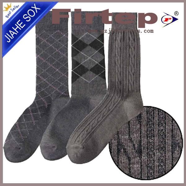 healthy cotton men's socks/men's fancy dress cotton socks