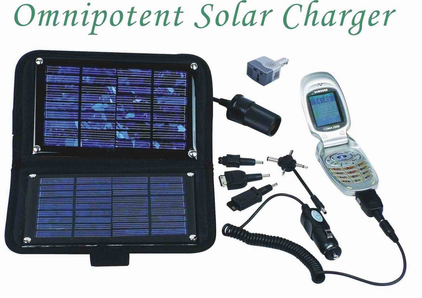 Omnipotent solar charger(SDMC-01)