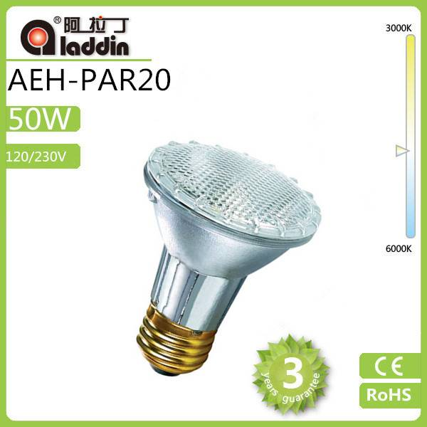 2014 New Arrival Cheap Clear 120/230V tungsten Halogen Lamp 35w PAR20 E27 Base with good price
