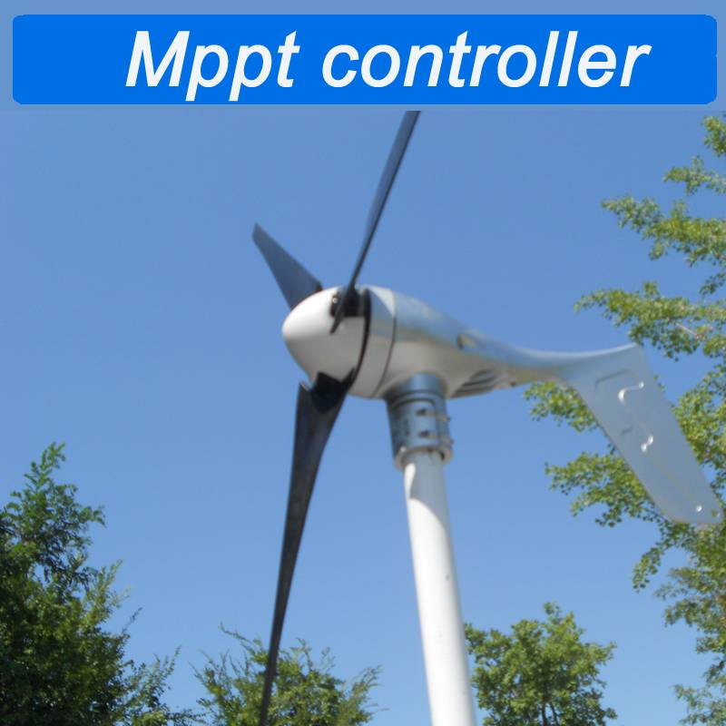 SuN Gold Power 400W 12v/24v/48v wind turbine generator built in Mppt controller