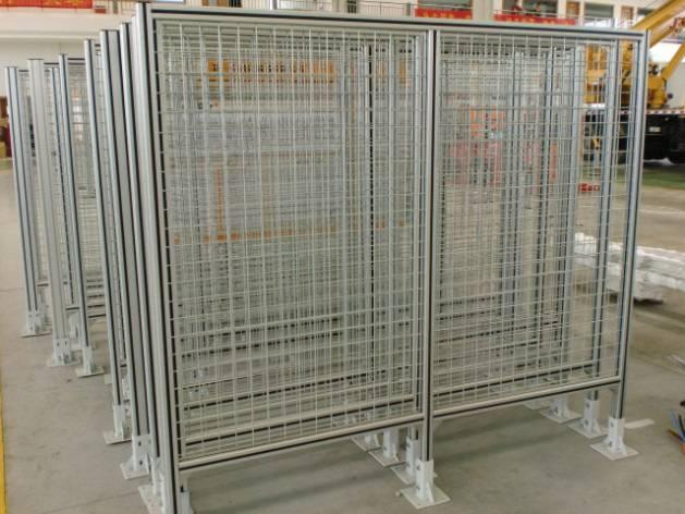 Aluminium Guardrail For Walkway And Ladder
