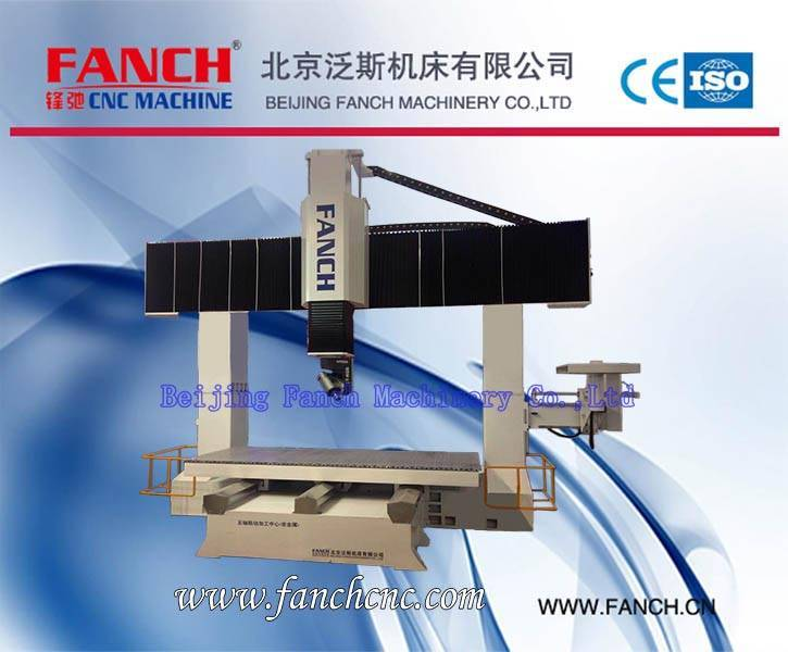 Offer Table Moving Five-axis Linkage Machining Center