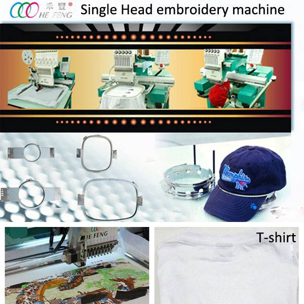 Selling Single head Cap/T-shirt embroidery machine