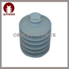 Porcelain pin type insulators