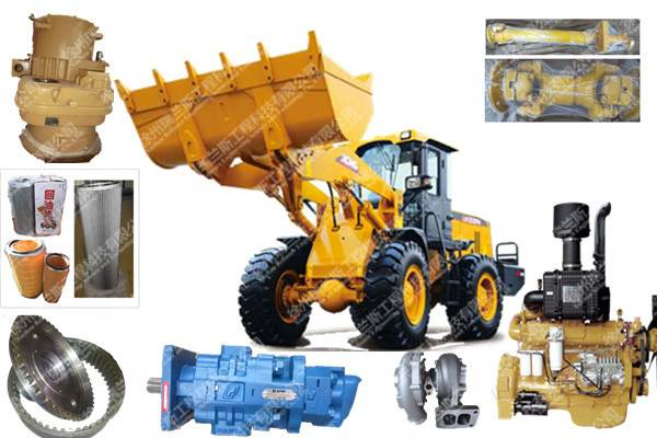 Sell Ethiopia XCMG ZL50G wheel loader spare parts