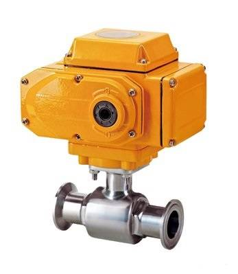 Sanitary Electrical Ball Valve (Clamp)