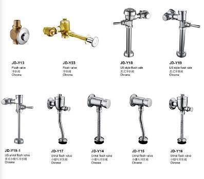 high quality chrome brass flush valves