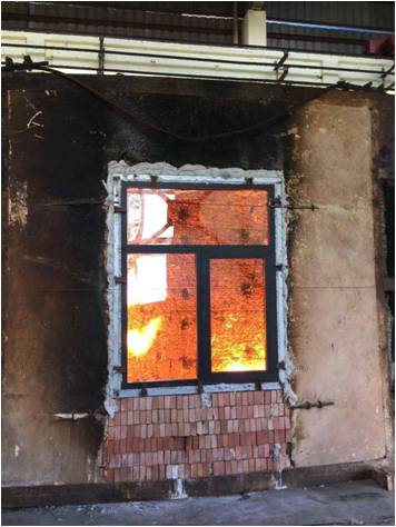 fireproof windows (aluminum and PVC)