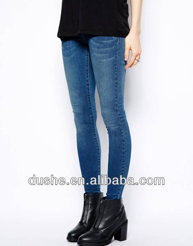 U'sake china suppier 2014 new woman denim skinny jeans pants s149020