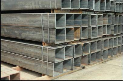 hot dipped galvanized steel square tube hollw section