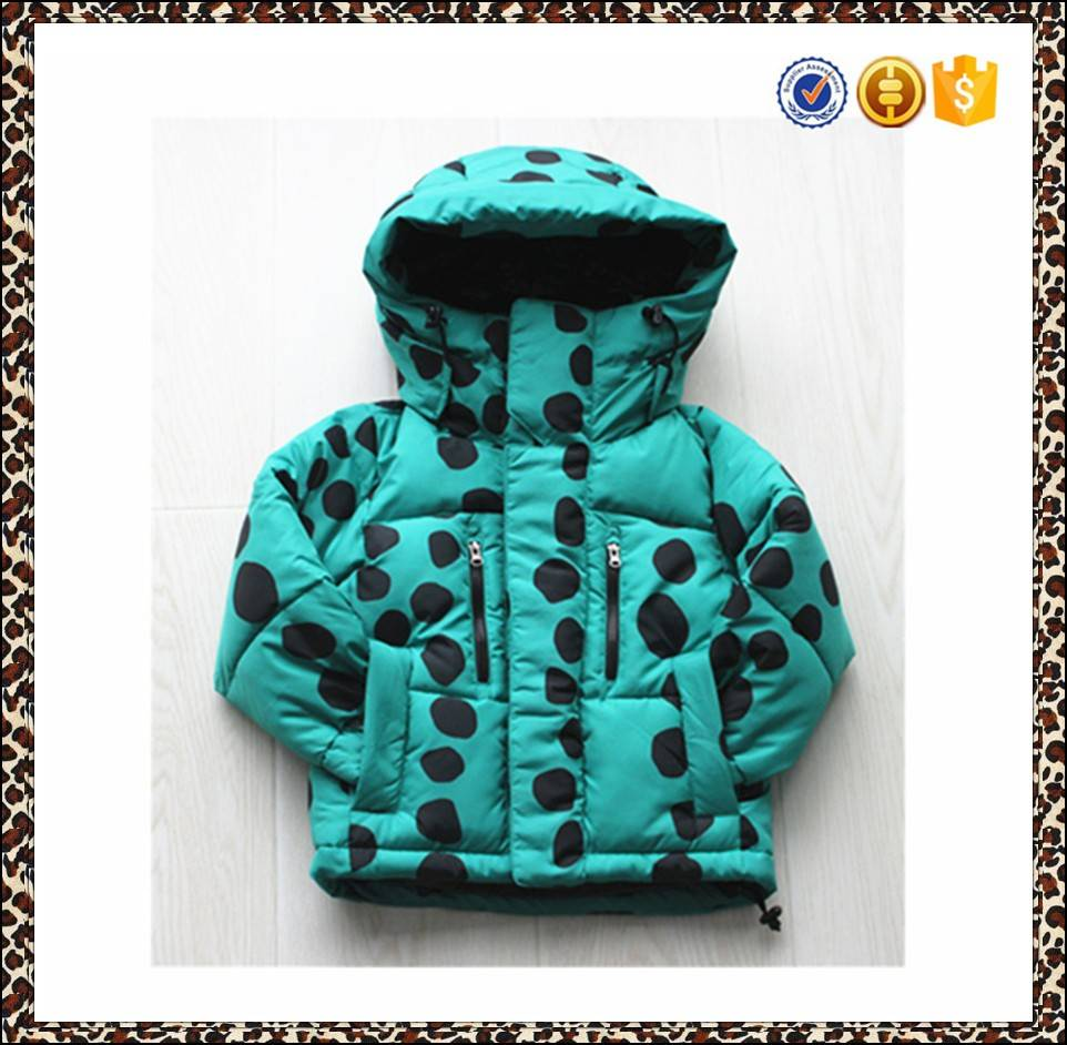 High quality and hot sale children winter coats, girls coats