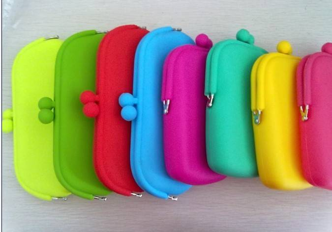new design galore silicone makeup bag pouch