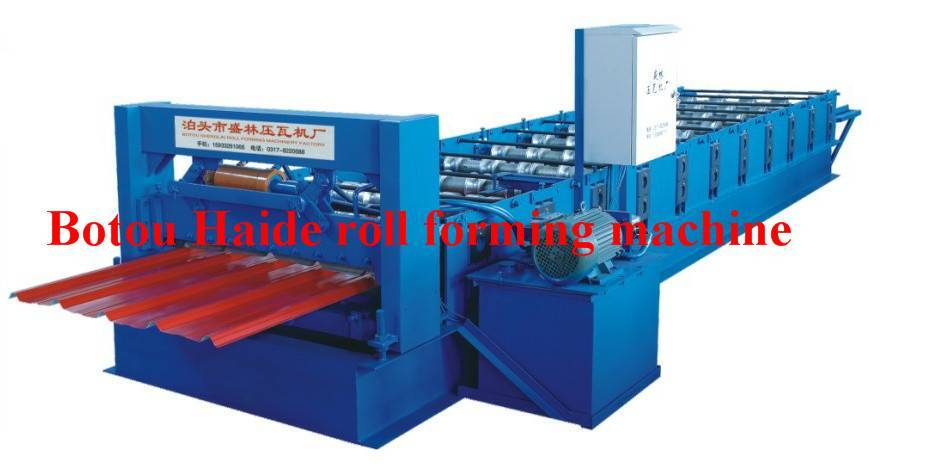 HD hot sale roll forming machine 840