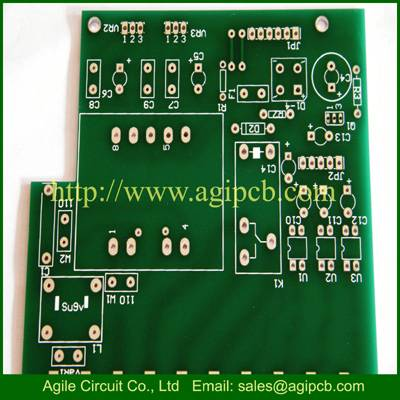 Circuit Board from Single sided PCB Double-sided PCB, Made of Aluminum