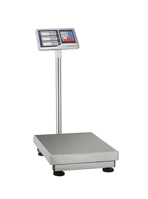 Waterproof And Stainless Steel Bench Platform Weight Scale