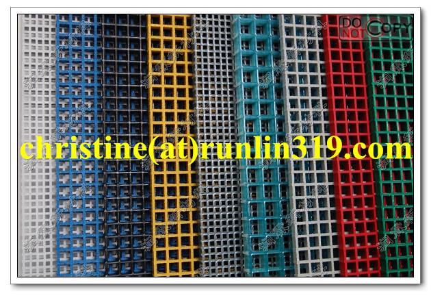 Fiberglass (FRP / GRP) grating Handrail fence stair nosing price